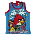 Angry Birds Shirt - Blue / Red * New