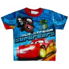 Cars McQueen T-Shirt - Blauw /  Rood * Nieuw