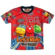 Chuggington Let's Ride the Rails! T-Shirt - Rood * Nieuw
