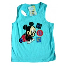 Mickey Mouse T-Shirt - Blauw * Nieuw
