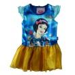 Prinsessen Sneeuwwitje Jurk - Blauw / Geel * Nieuw
