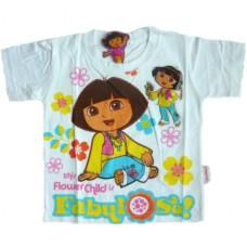 Dora the Explorer T-Shirt - Wit * Nieuw