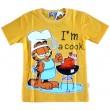Garfield T-Shirt - Geel * Nieuw