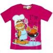Garfield T-Shirt - Roze * Nieuw