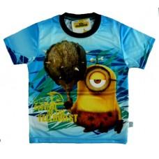 Minions T-Shirt - Blauw * Nieuw
