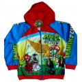 Plants vs Zombies Jacket - Blue / Red * New