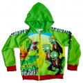 Plants vs Zombies Jacket - Green / Red * New