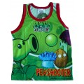 Plants vs Zombies T-Shirt - Green / Red * New