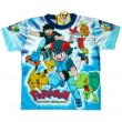 Pokemon Advanced Generation T-Shirt - Wit / Blauw * Nieuw