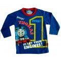 Thomas the Tankengine Longsleeves T-Shirt - Blue * New