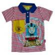 Thomas de Trein Polo T-Shirt - Rood /  Wit /  Blauw * Nieuw