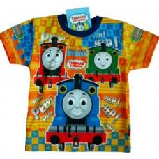 Thomas de Trein T-Shirt - Blauw / Geel * Nieuw