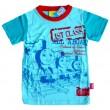 Thomas de Trein T-Shirt - Lichtblauw / Rood * Nieuw