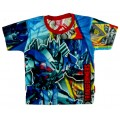 Transformers T-Shirt - Blue / Red * New