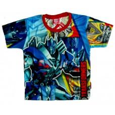 Transformers T-Shirt - Blauw / Rood * Nieuw